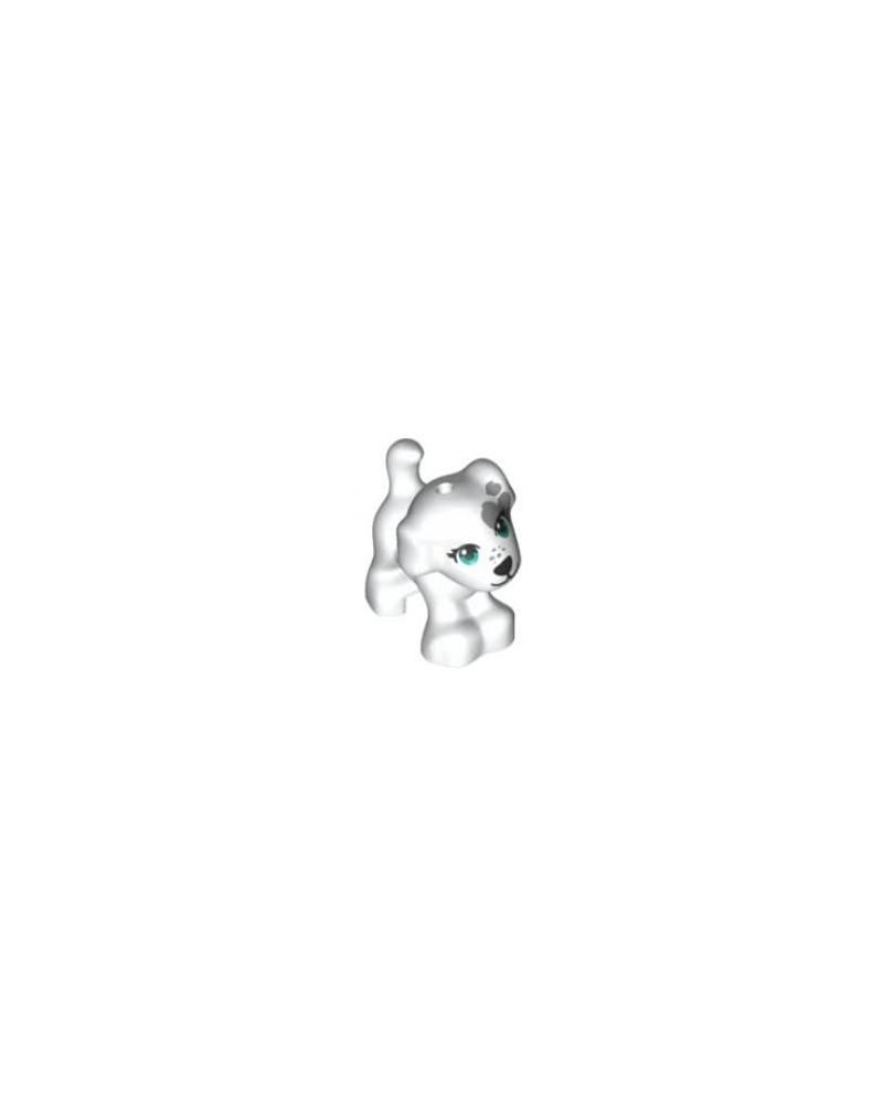 LEGO® witte puppy hond 93088pb10