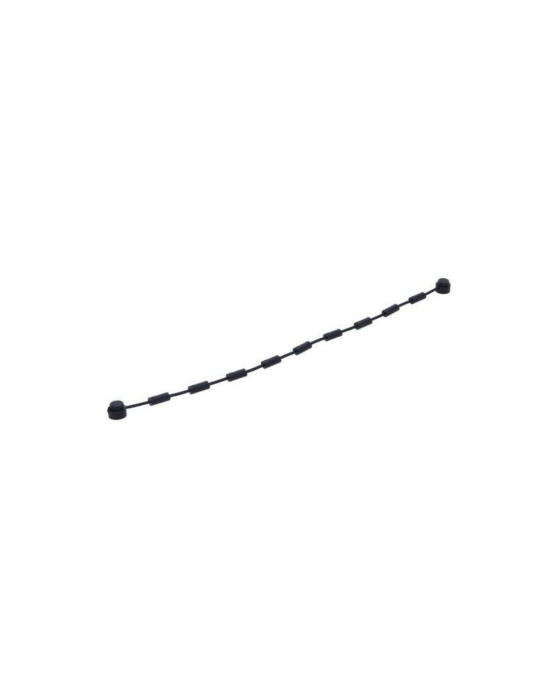 LEGO® Black STRING 16 cm with end studs 63141