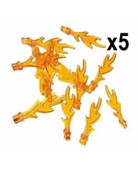 LEGO® 5X FLAMES trans...