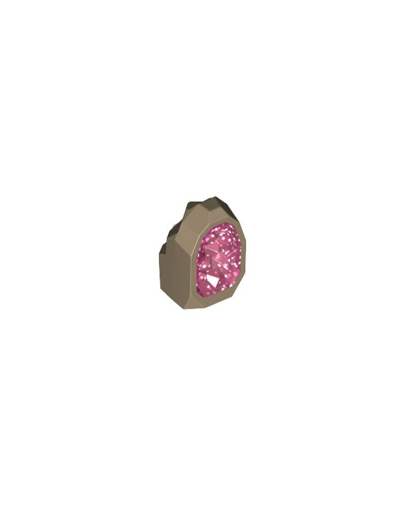LEGO® BIJOUX Dark Tan Rock 1 x 1 Geode 49656pb03