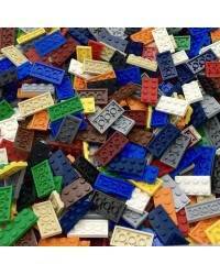 20x LEGO® plate 2x4 different colors