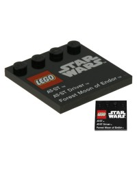 LEGO® STAR WARS tile 6179pb049
