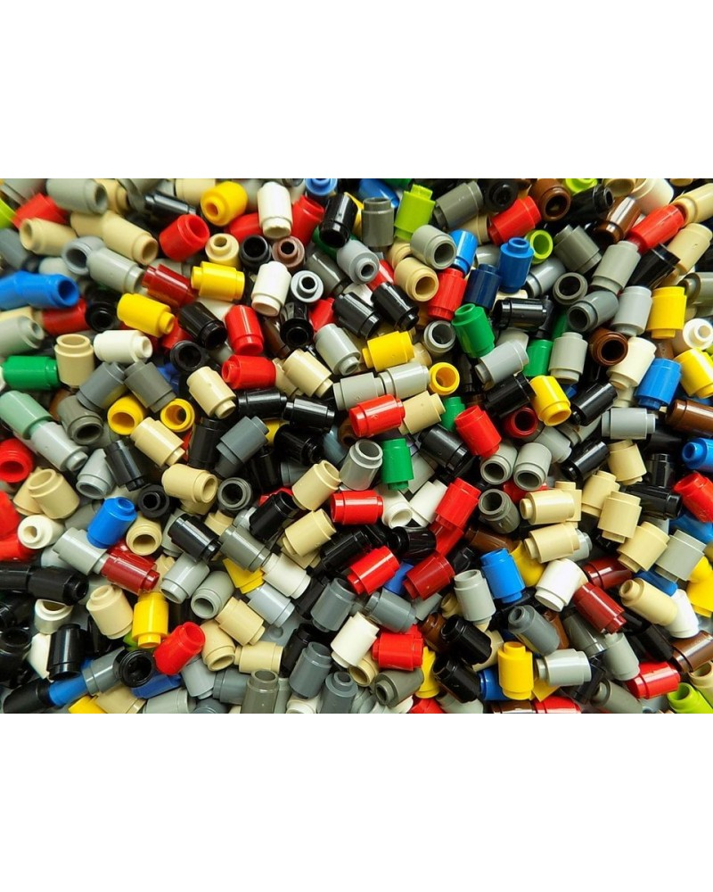 20x LEGO® brick Round 1 x 1 Open Stud 3062b