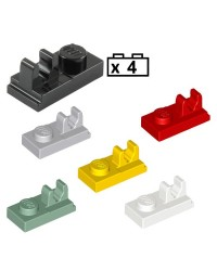 LEGO® 4x Platten, Modified 1 x 2 mit Clip on Top 92280