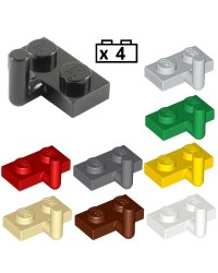 LEGO® 4x Plaque, Modified 1 x 2 avec Bar Arm Up (Horizontal Arm 5mm) 4623b