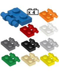LEGO® 4x Platten, Modified 1 x 2 mit Bar Handle on Side with Free Ends 2540