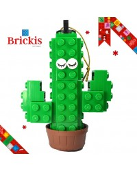 LEGO® ornament cactus for Christmas or table decoration