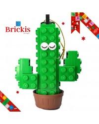 Ornement LEGO® cactus pour Noël ou décoration de table