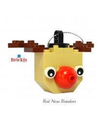 Ornement LEGO® renne pour Noël ou décoration de table