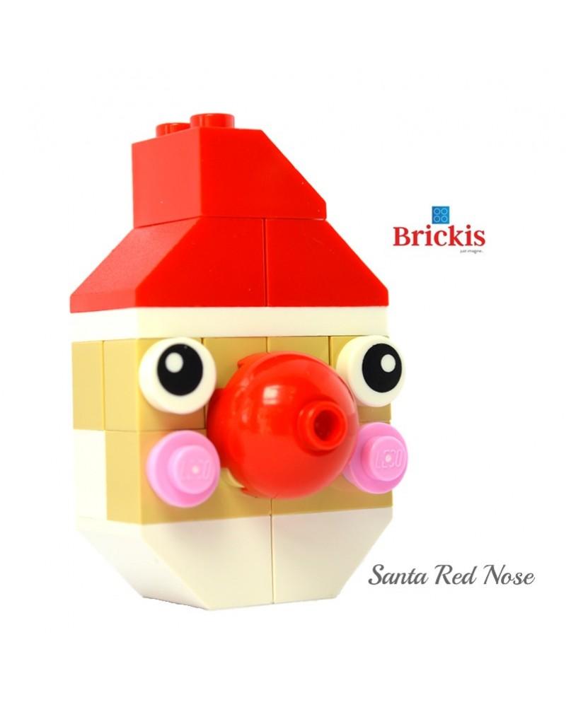 Weihnachtsmann LEGO® Ornament für Weihnachten oder Tischdekoration
