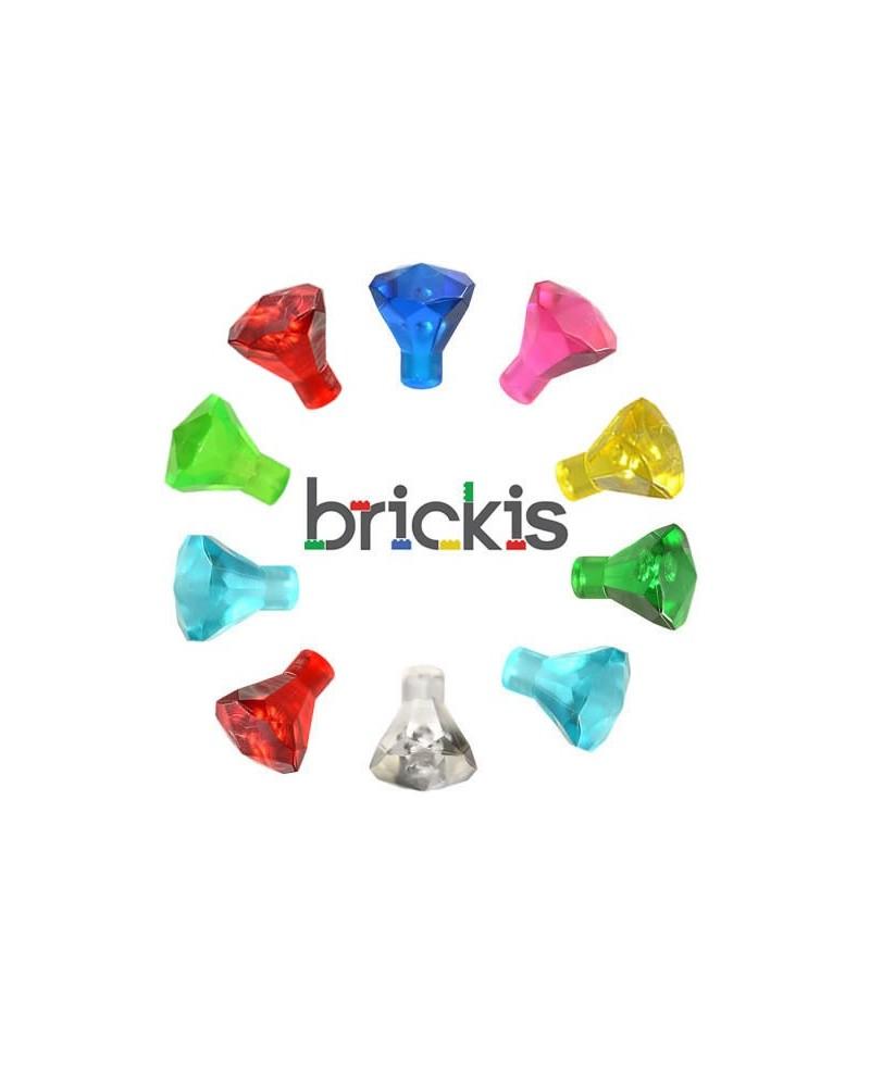 LEGO® 10 edelstenen diamanten