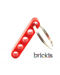 LEGO ® technic keychain red
