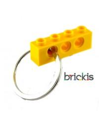 LEGO® technic sleutelhanger geel