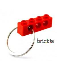 LEGO® technic sleutelhanger rood