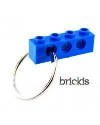 1 LEGO® technic porte clef bleu