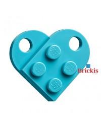 LEGO® coeur medium azure