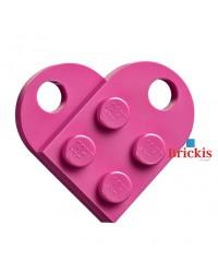 LEGO® heart dark pink