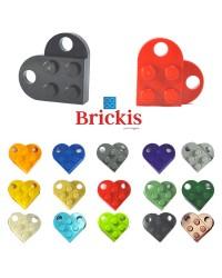 haz un corazón LEGO® tú mismo