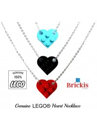 LEGO® collier avec coeur pour amoureux