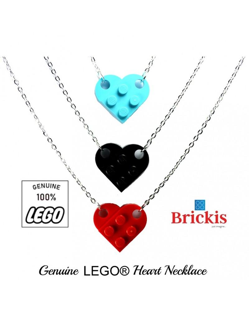 LEGO® hart halsketting voor verliefden of beste vrienden