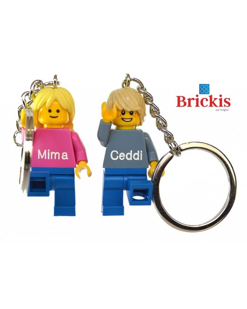 lavero LEGO® minifigura con tu nombre