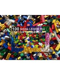 Mix LEGO® 100 briques