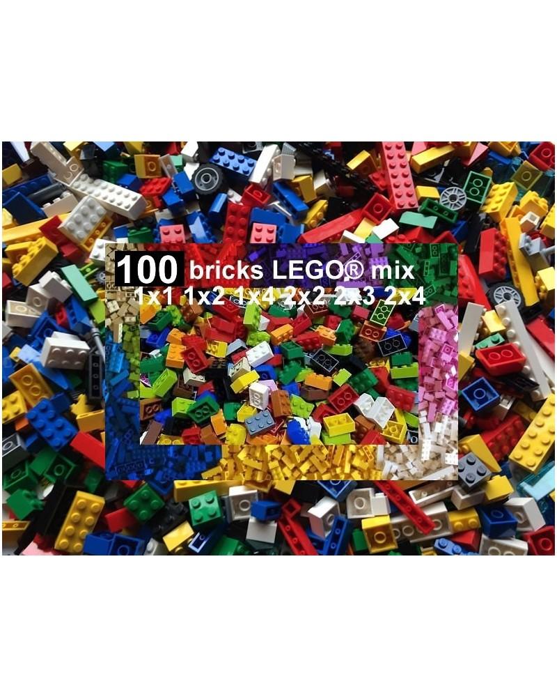 Mix LEGO® 100 bricks