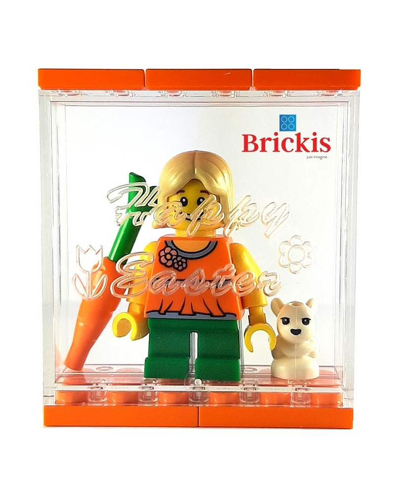PAQUES LEGO® Cube box + minifigure