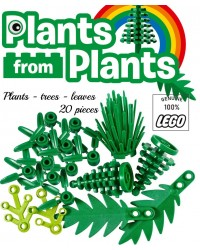 LEGO®  lot de 20 feuilles tiges feuilles de palmier sapin arbuste