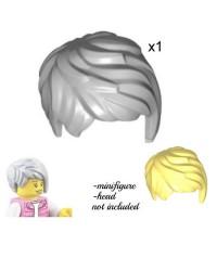 LEGO® minifigures hair gray or blond