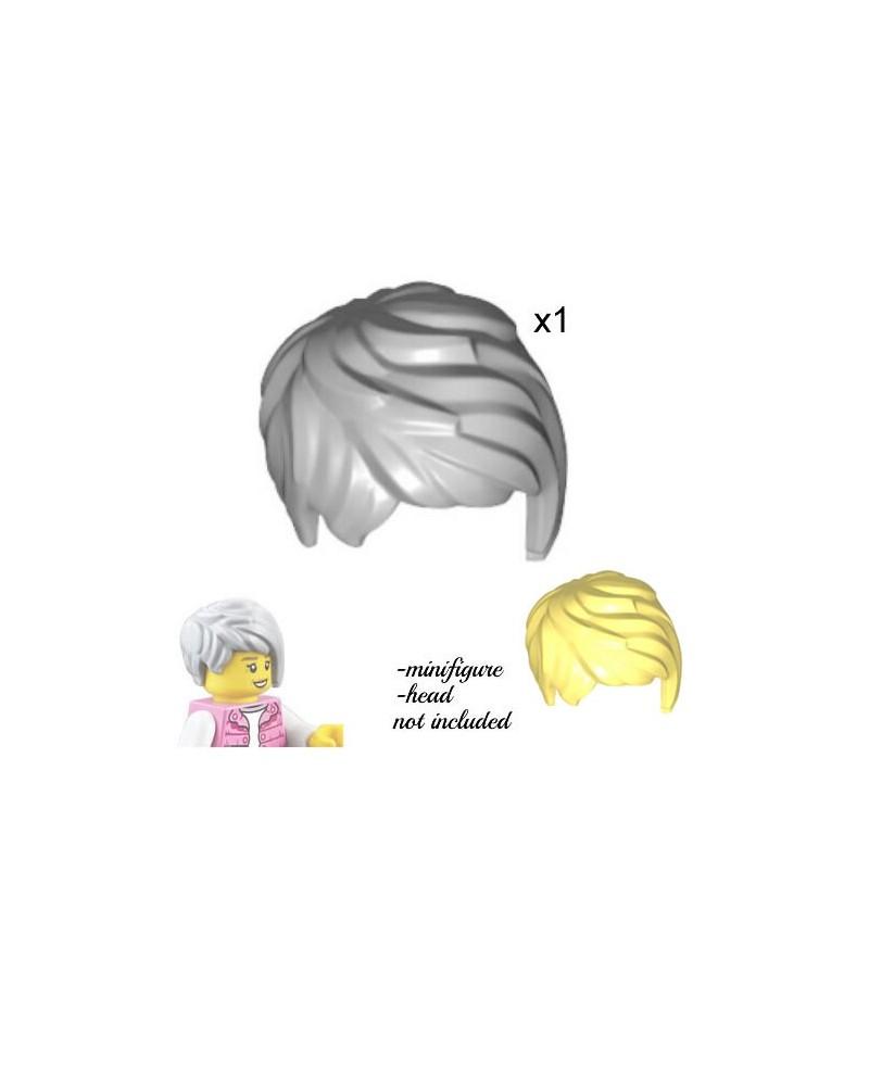 LEGO® minifiguren haar grijs of blond