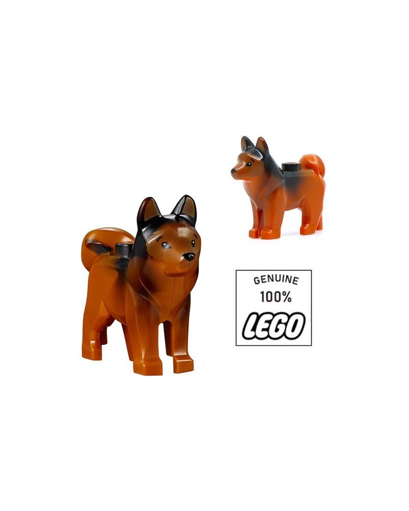 LEGO® Husky chien marron