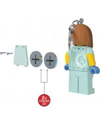 LEGO® Porte-clé haute figurine 7,6 cm médecins infirmière docteur lumière LED brillante dans les deux pieds
