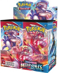 sword and shields battle styles  pokemon booster box