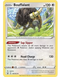 Pokémon trading card / kaart Bouffalant 118/163 S&S Battle Styles OFFICIAL