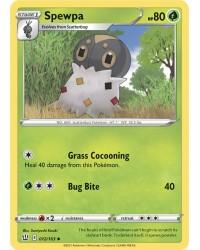Pokémon trading card / kaart Spewpa 012/163 Sword & Shield 5 Battle Styles OFFICIAL