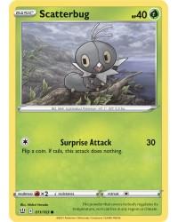 Pokémon trading card / kaart Scaterburg 011/163 Sword & Shield 5 Battle Styles OFFICIAL