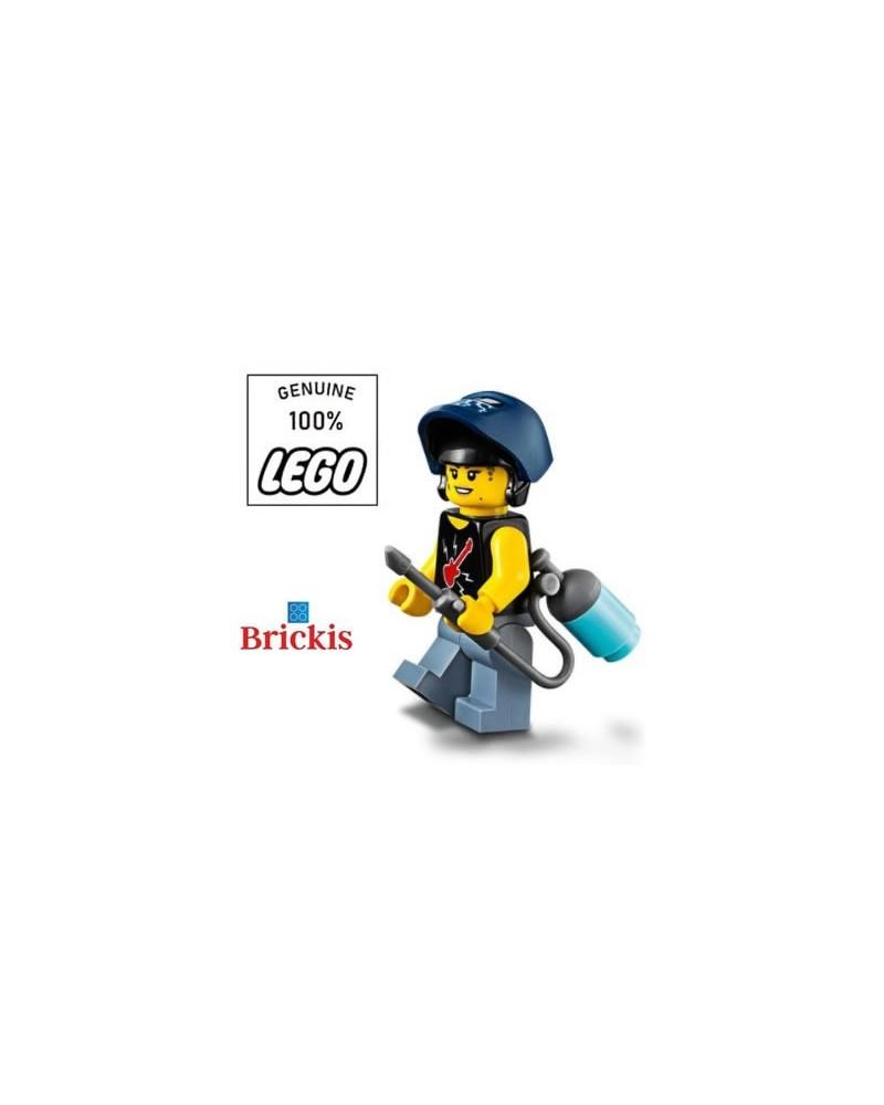 LEGO® minifiguur meisje vrouw lasser