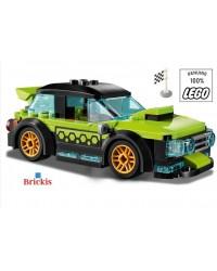 LEGO® green RACE CAR racing car