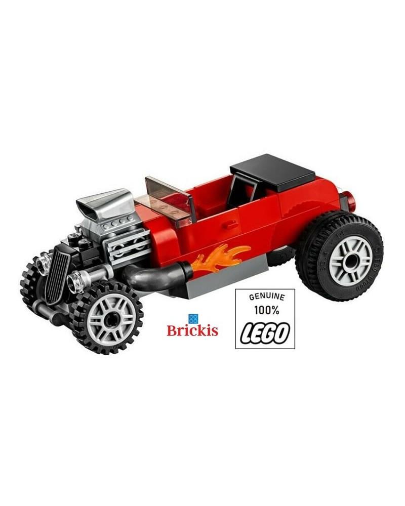 LEGO® red RACE CAR racing car