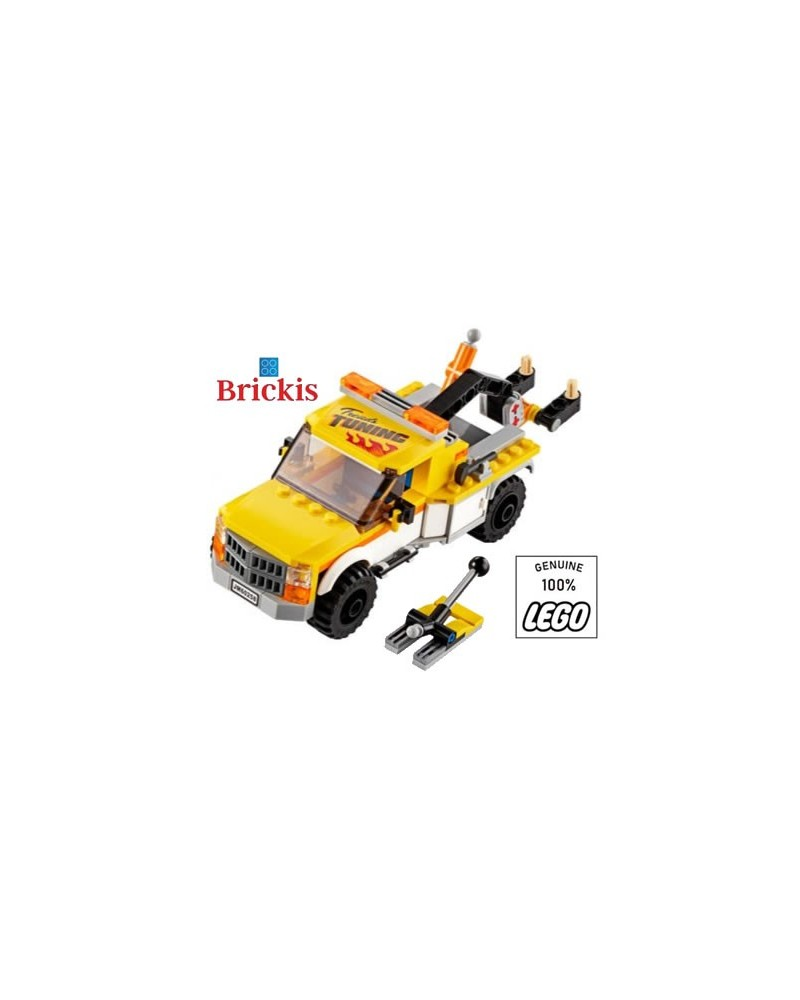 LEGO® TOW TRUCK towing service depanage garage owner