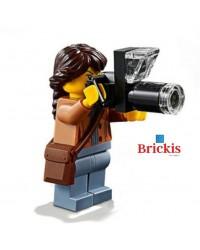 LEGO® PHOTOGRAPHER with Camera minifigure