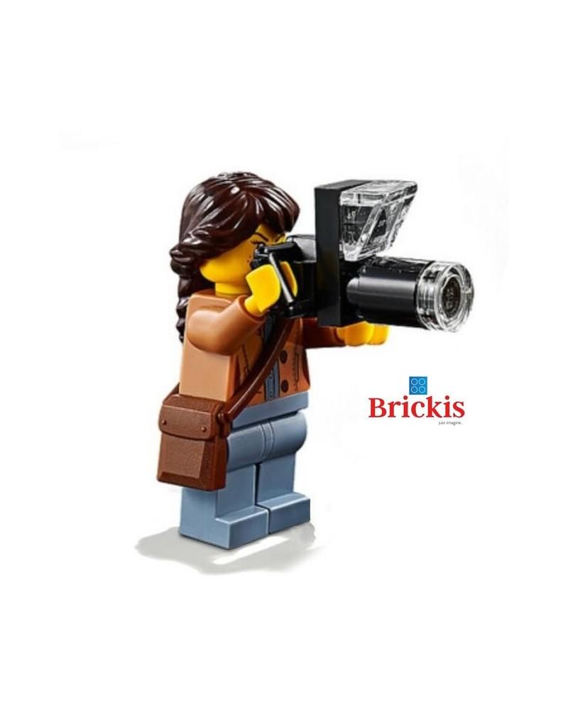 LEGO® FOTOGRAAF met Camera minifiguur