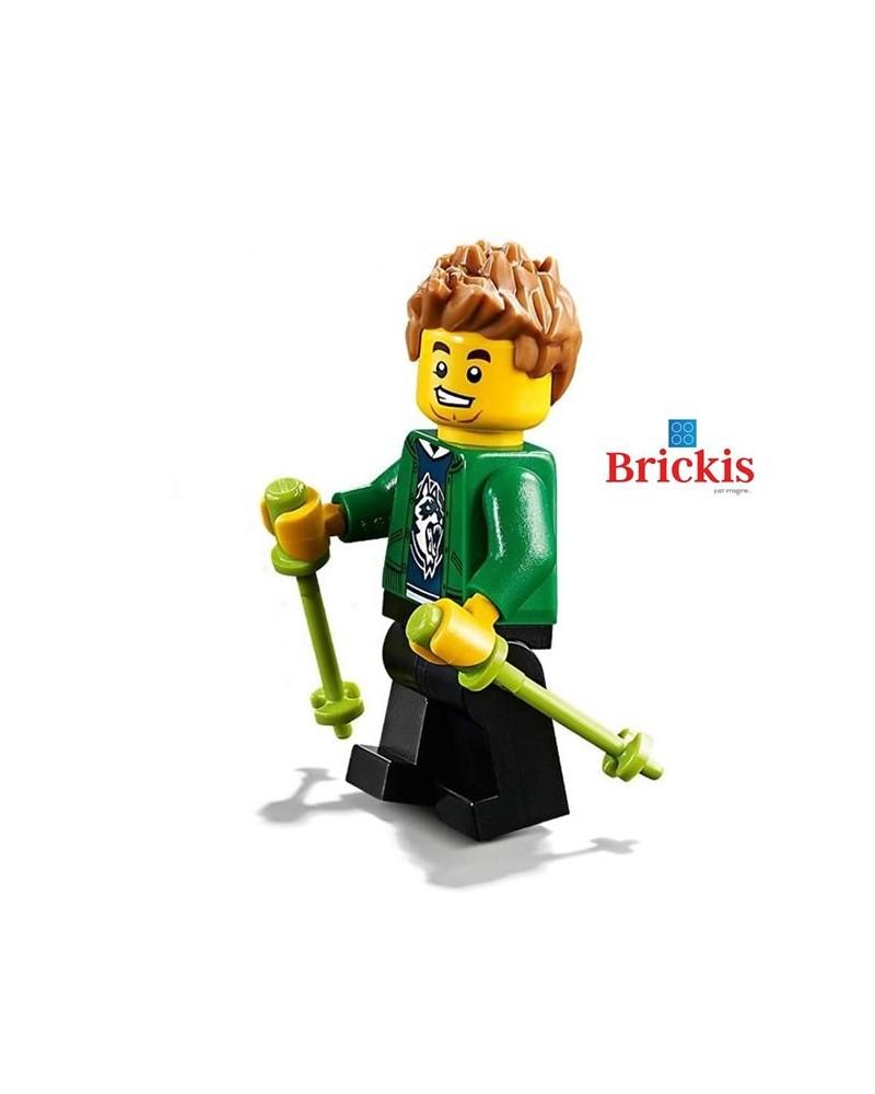 LEGO® Jongen HIKER wandelaar minifiguur