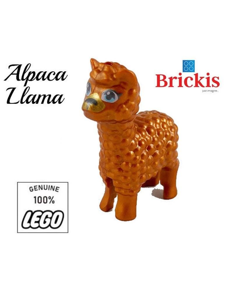 LEGO® Alpaca / Lama uit de Andes in Peru Zuid-Amerika 65405pb01