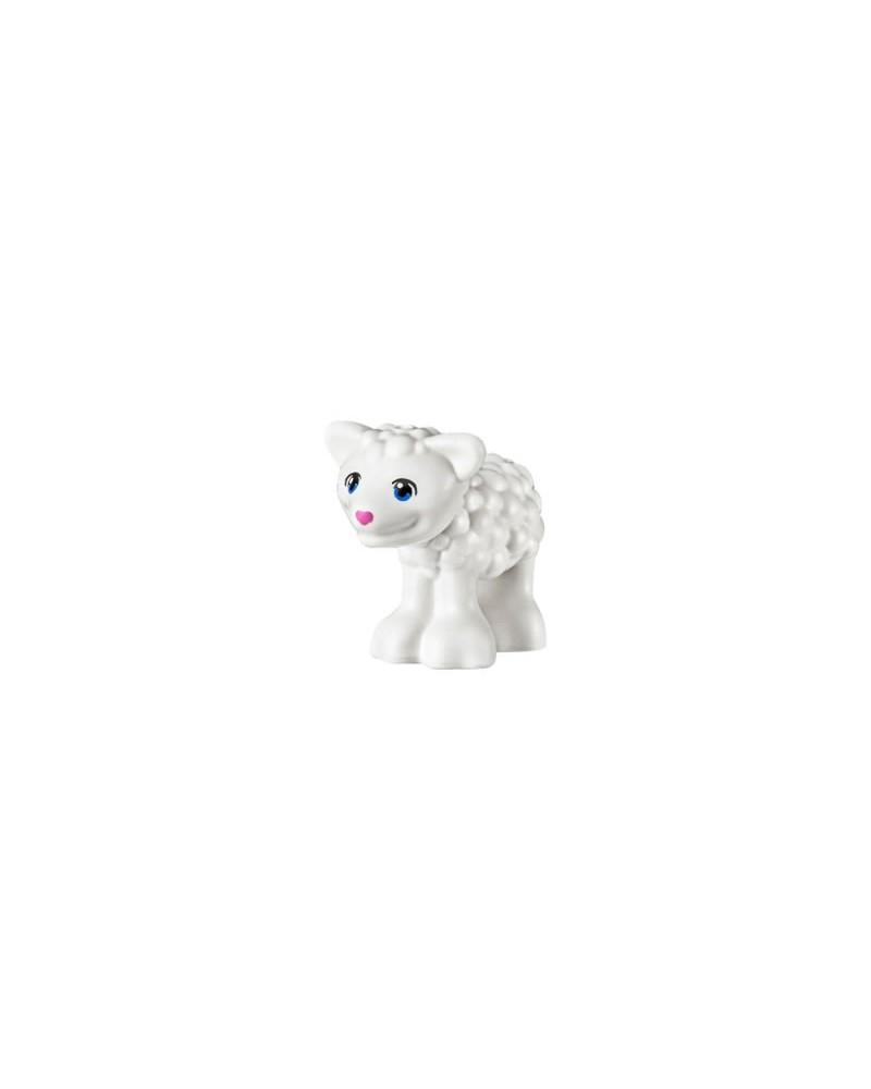 LEGO® Lam / schaap met blauwe ogen 15695pb03