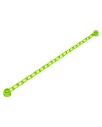 LEGO® Ketting 13 cm 21 schakels Trans Bright Green met eindnoppen 30104