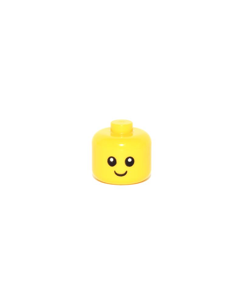 LEGO® minifiguur hoofd baby's peuters 24581pb01