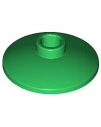 LEGO® Schotel 2 x 2 Omgekeerd (Radar) 4740 groen