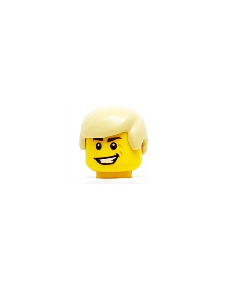 LEGO® Haar man Blond Tan voor minifiguren 3901